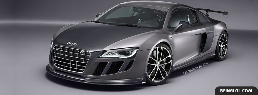 2010 ABT Audi R8 GTR Facebook Cover