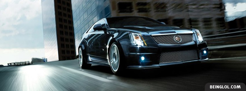 2011 Cadillac CTS V Facebook Cover