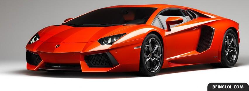 2012 Lamborghini Aventador Facebook Cover