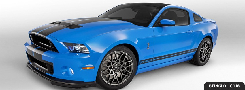 2013 Ford Mustang Shelby GT500 Facebook Cover
