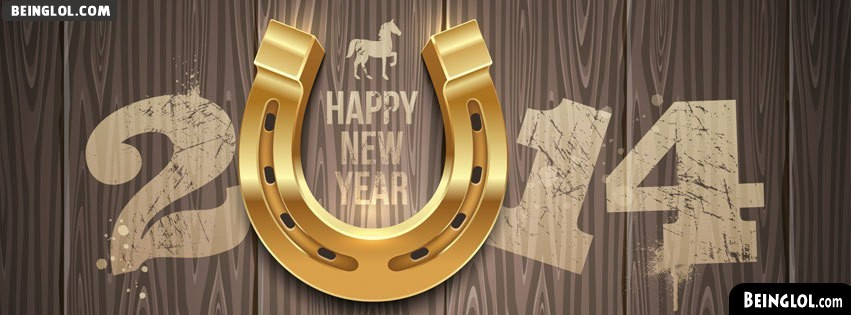 2014 Lucky Year Of The Horse Facebook Cover