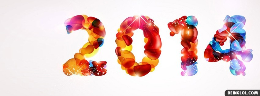 2014 New Year Facebook Cover