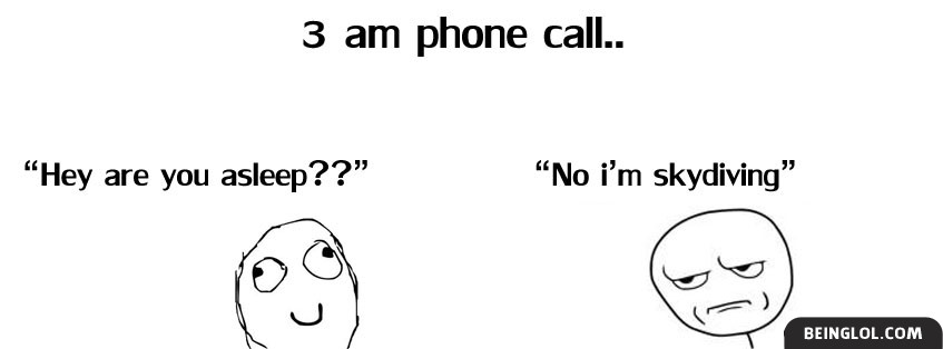 3am Phone Call Facebook Cover
