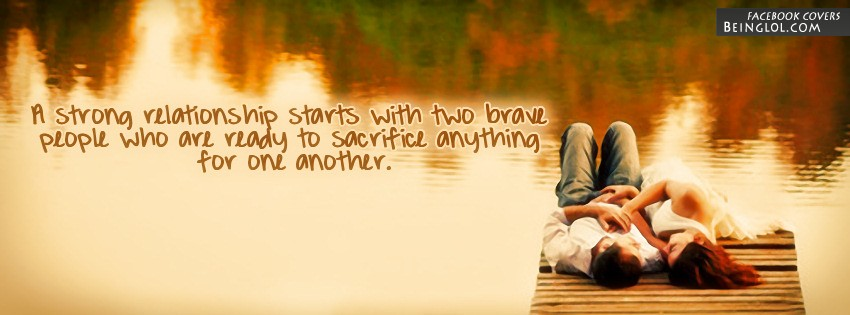 A Strong Relationship Facebook Cover