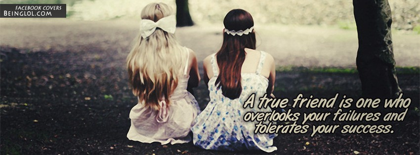 A True Friend Facebook Cover
