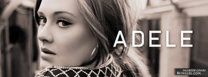 Adele Facebook Cover
