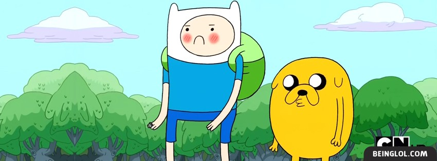 Adventure Time 2 Facebook Cover