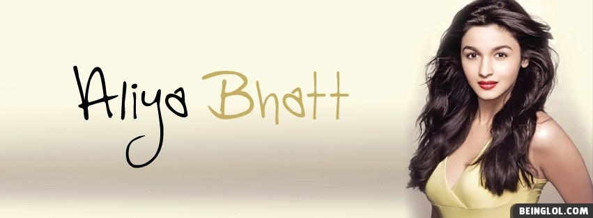 Aliya Bhatt Facebook Cover