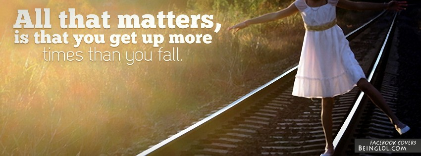 All That Matters Is Facebook Cover