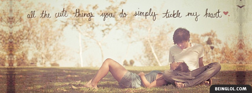 All The Things You Do Facebook Cover