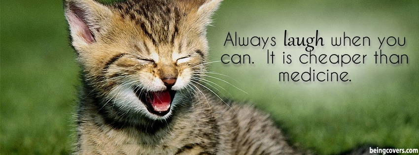 Always Laugh Facebook Cover