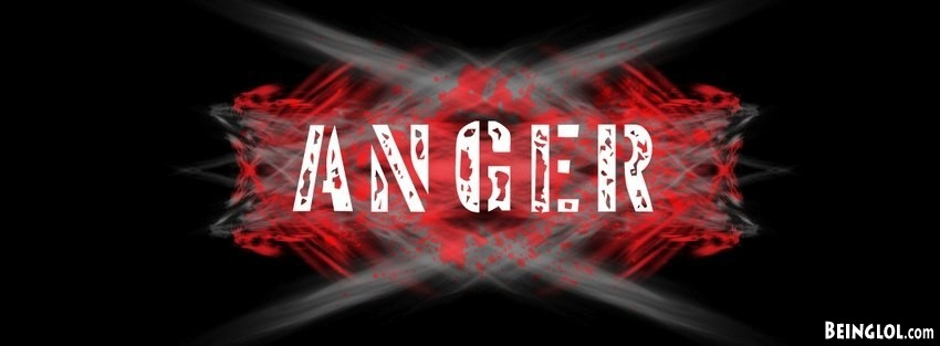 Anger Facebook Cover