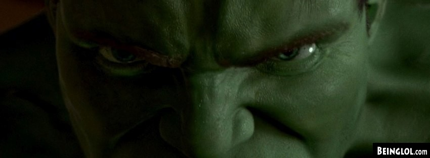 Angry Hulk Facebook Cover