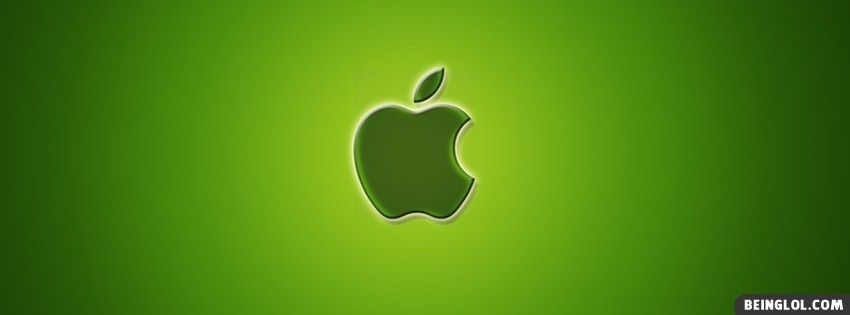 Apple Green Facebook Cover