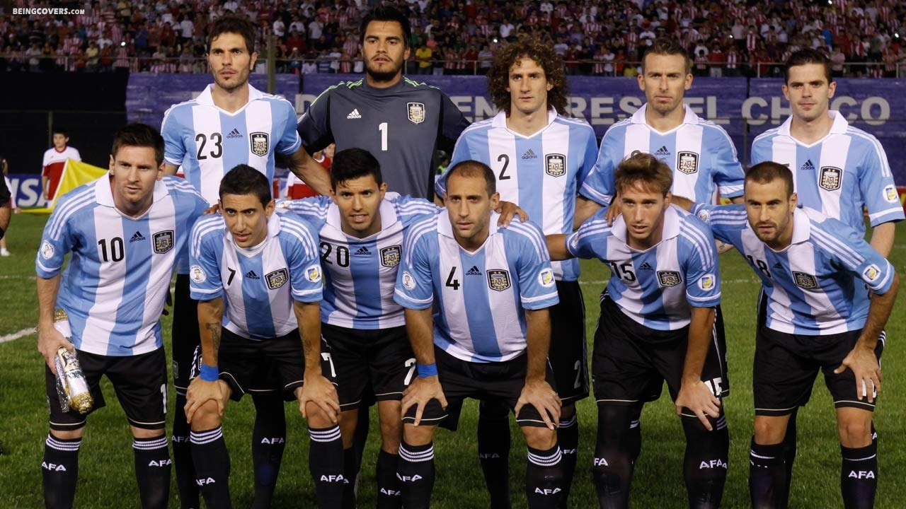 Argentina National Team 2014 Cover