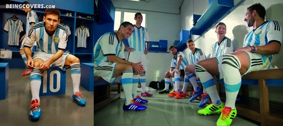 Argentina National Team Players Cover