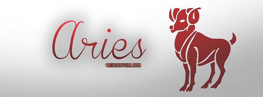 Aries Horoscope Facebook Cover