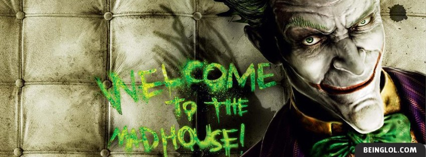 Arkham Asylum Joker Facebook Cover