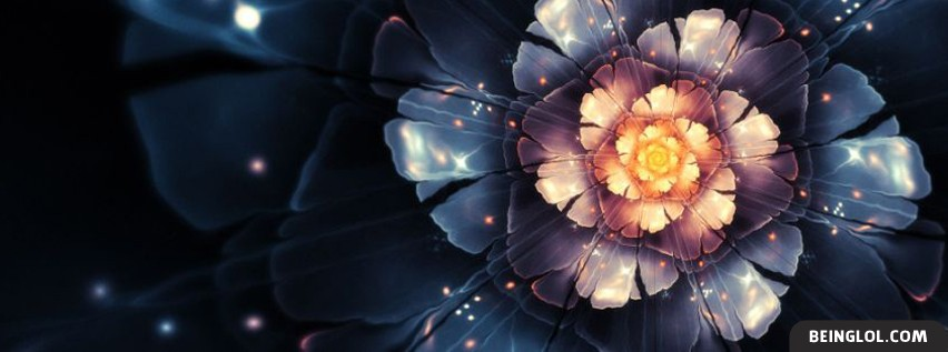 Artistic Flower Facebook Cover