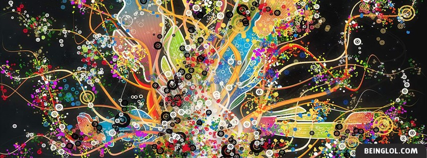 Artistic Painting Canvas 2 Facebook Cover