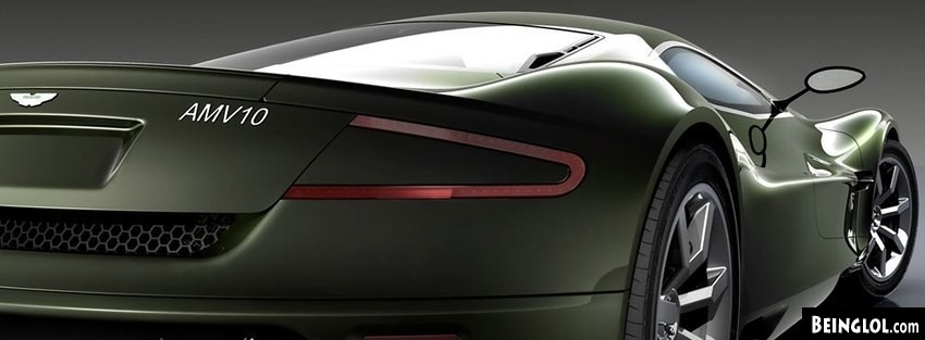 Aston Martin AMV10 Concept 2008 Facebook Cover