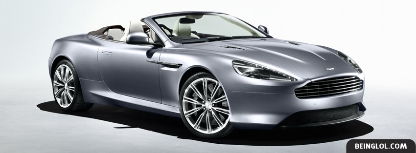 Aston Martin Virage Volante Facebook Cover