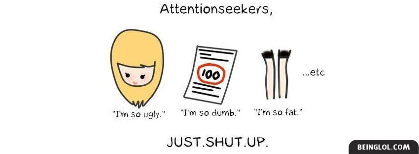 Attention Seekers Facebook Cover