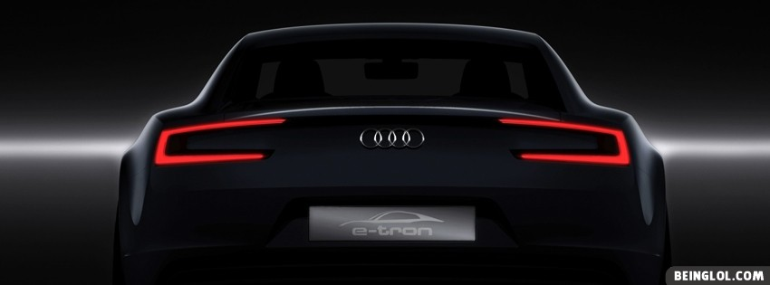 Audi E Tron Facebook Cover