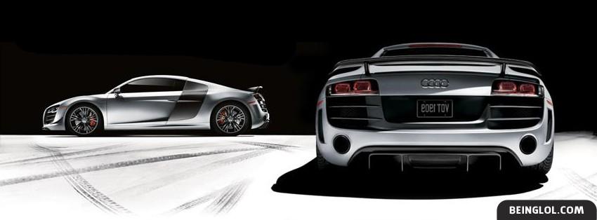 Audi R8 3 Facebook Cover