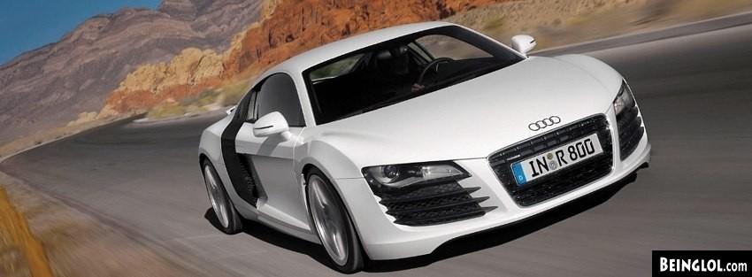 Audi R8 427 Facebook Cover