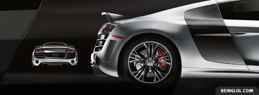 Audi R8 5 Facebook Cover