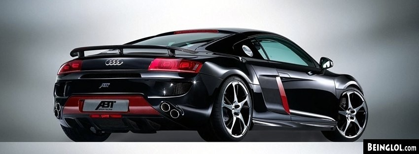 Audi R8 ABT Facebook Cover