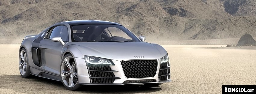 Audi R8V12TDI 2008 Facebook Cover