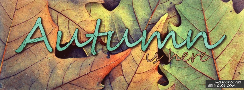 Autumn Is Here Cover
