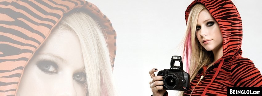 Avril Lavigne Facebook Cover