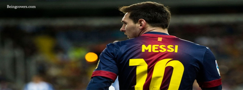 Awesome Look Of Lionel Messi Facebook Cover