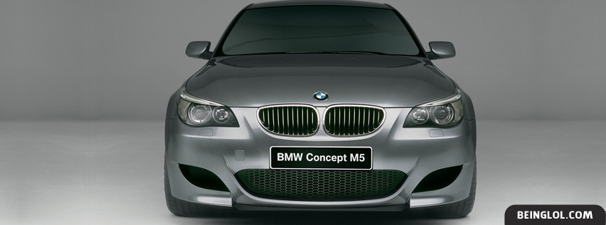 BMW Concept M5 Facebook Cover