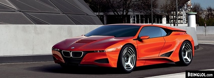 BMW M1 Concept Wow Facebook Cover