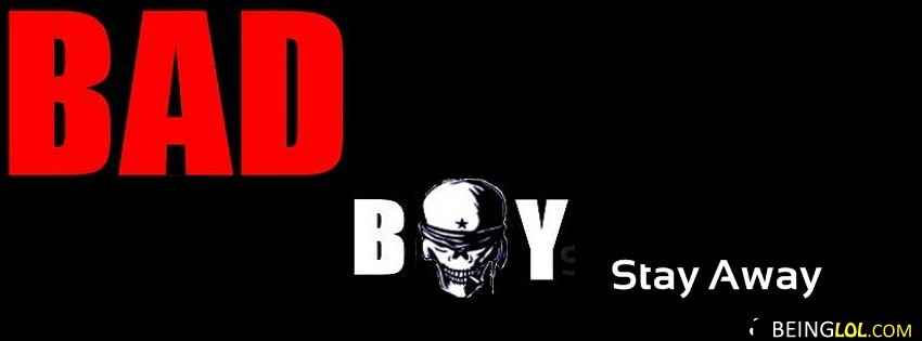 Bad Boy Facebook Cover Facebook Cover