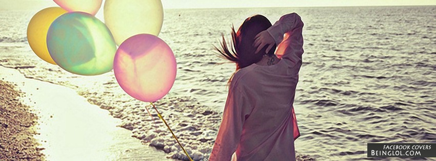 Balloons Facebook Cover