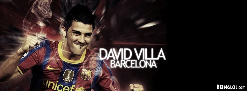 Barcelona David Villa Cover