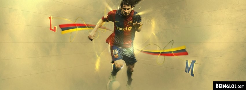 Barcelona Lionel Messi Facebook Cover