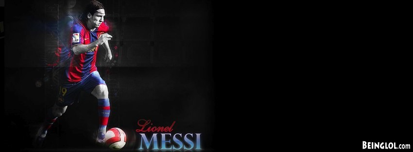 Barcelona Messi Facebook Cover