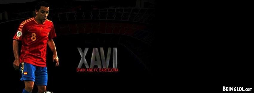 Barcelona Xavi Facebook Cover