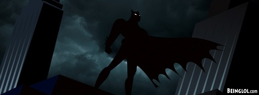 Batman The Animated Facebook Cover