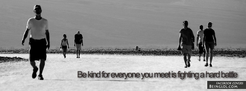 Be Kind Facebook Cover