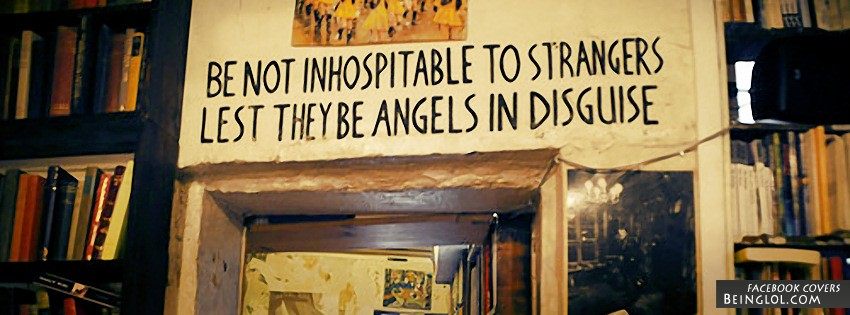 Be Not Inhospitable To Strangers Facebook Cover