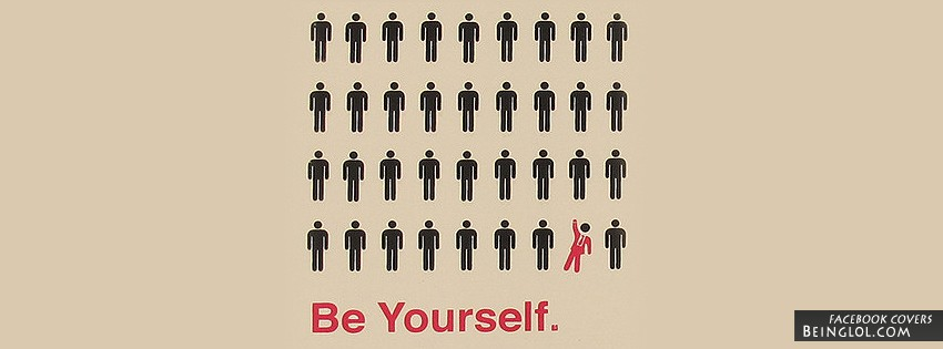 Be Yourself Facebook Cover