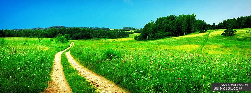 Beautiful Country Side Facebook Cover