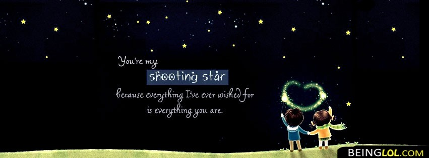 Beautiful Love Quote Facebook Cover